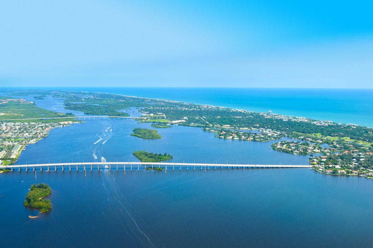 Aerial Vero Beach 2012
