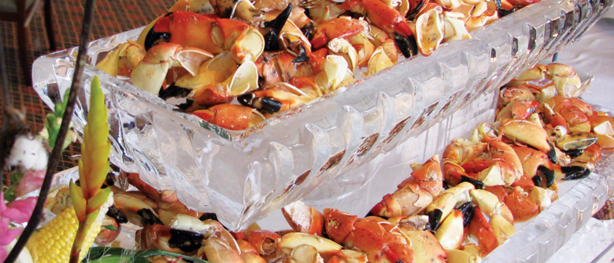 Enjoy Delicious Crab At John's Island
