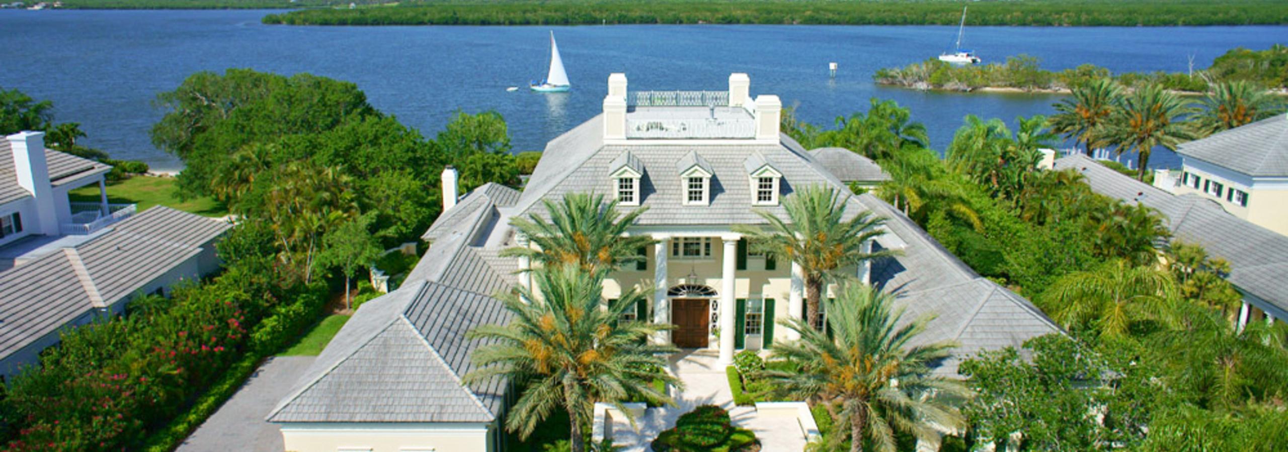 161 Terrapin John's Island Florida Aerial View