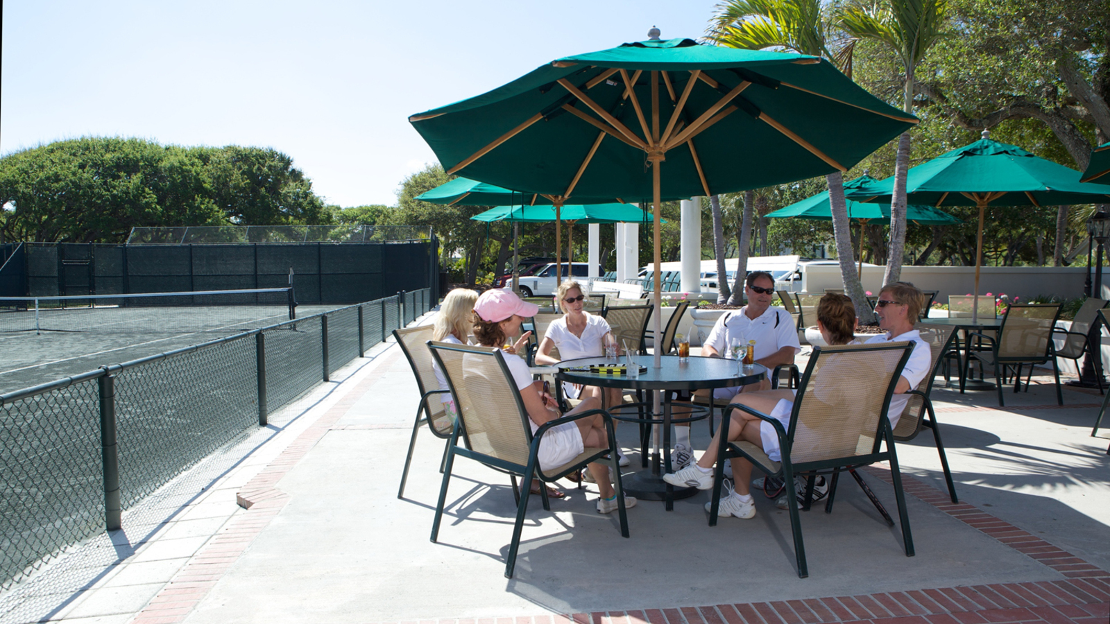 Food & Drink At The John's Island Tennis Club
