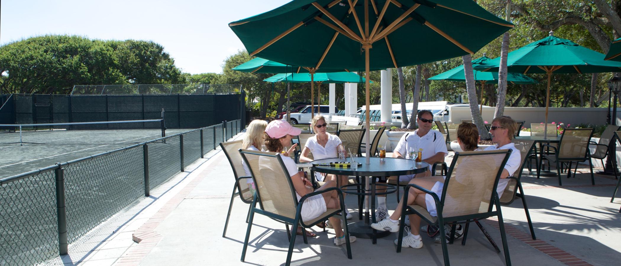 Food & Drink At The John's Island Tennis Club
