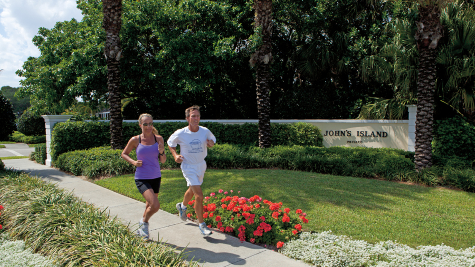 Running At John's Island
