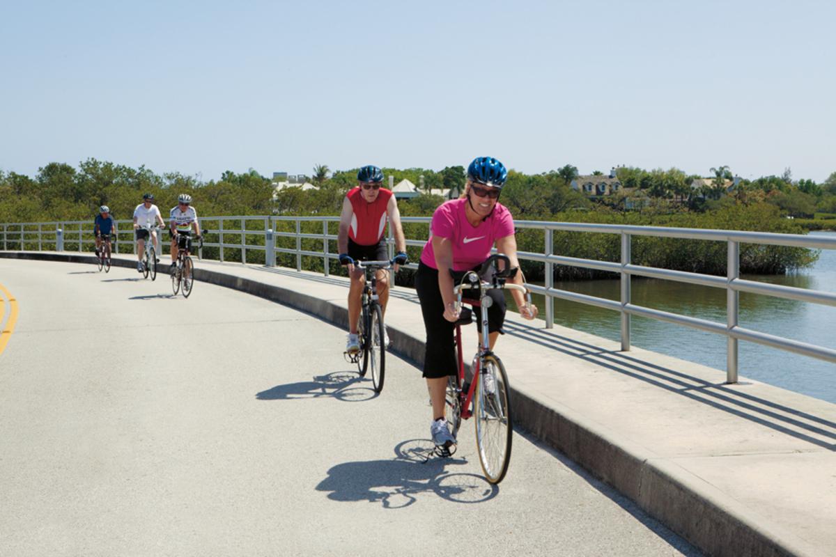 Biking At John's Island