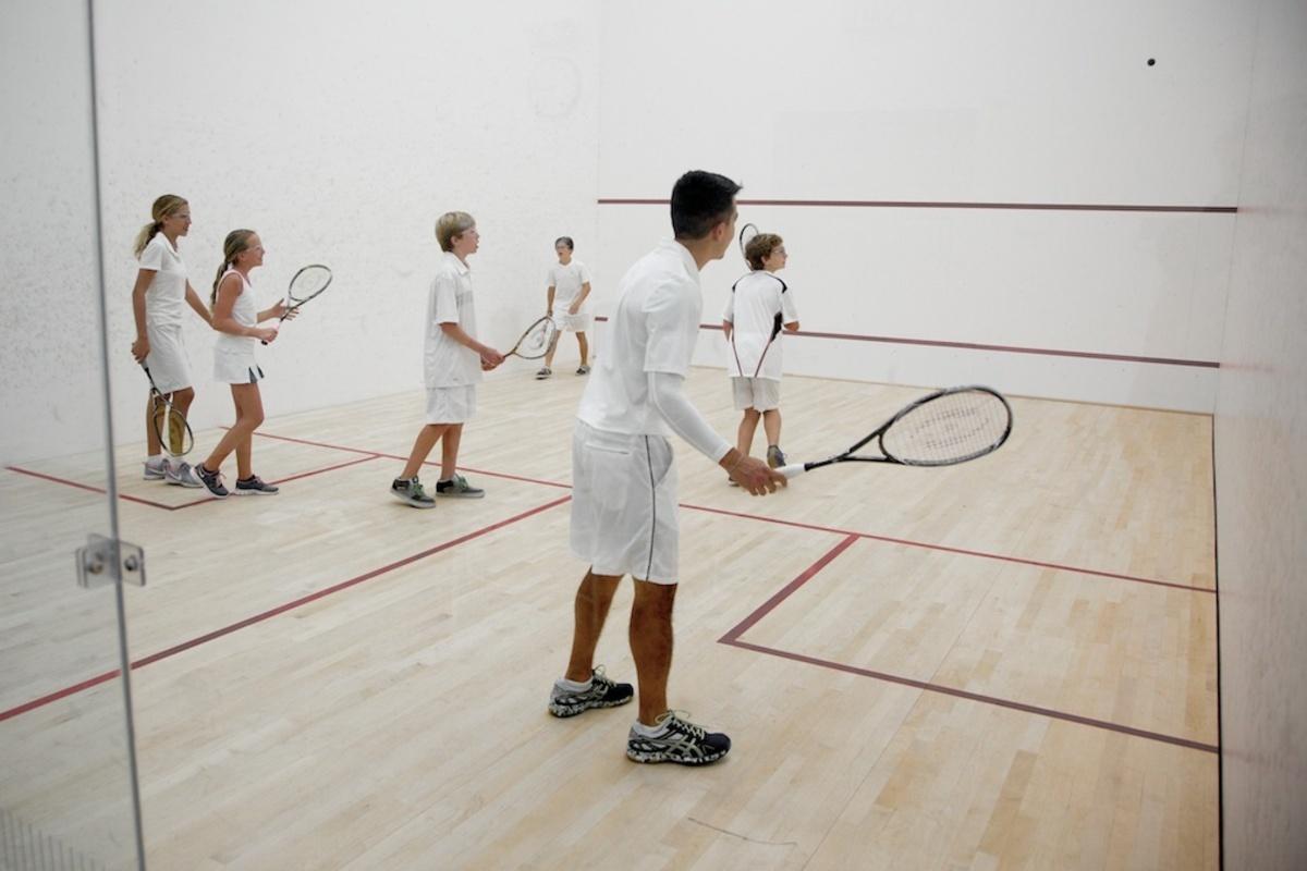 Learning Squash At John's Island