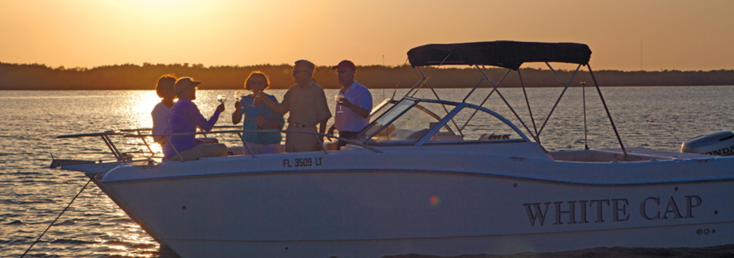 Boat Tasting in John's Island, Florida