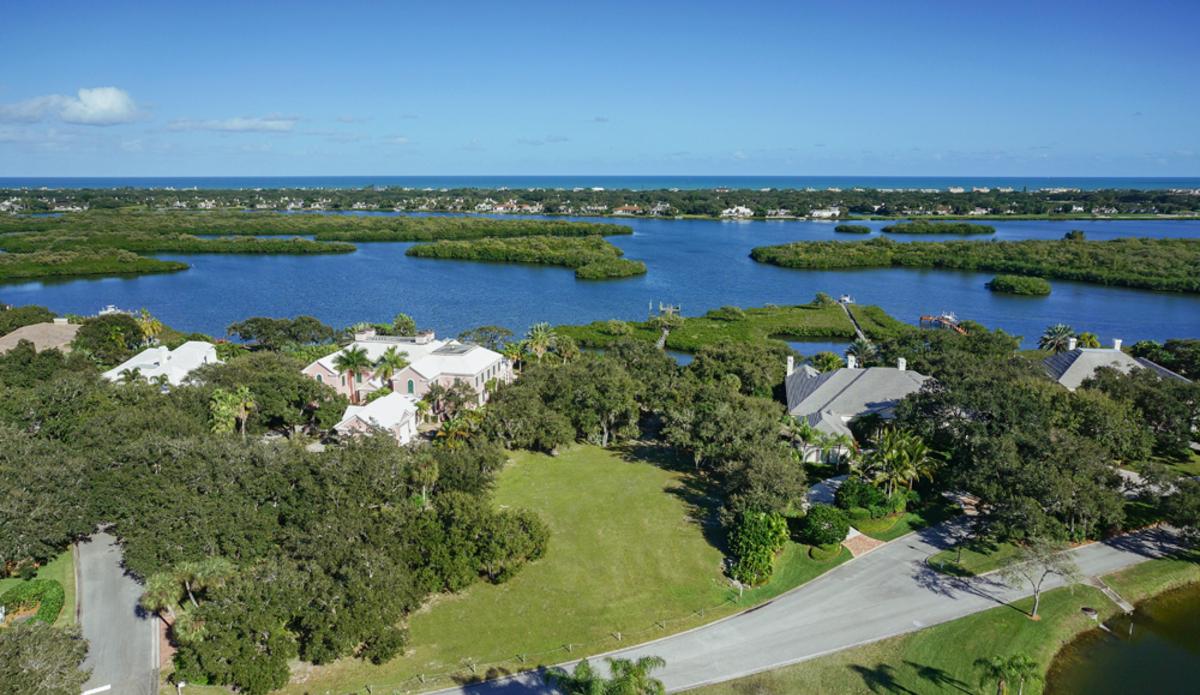 60 Gem John's Island Florida Aerial View